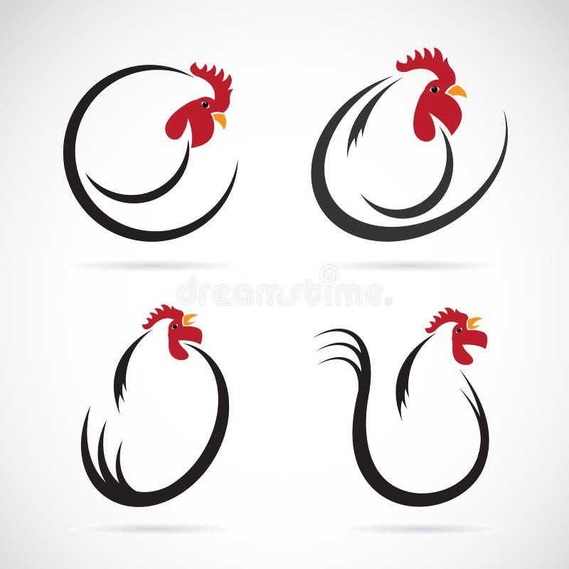 Imagem do vetor de um projeto da galinha ilustração stock