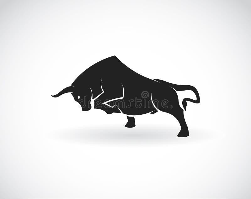 Imagem do vetor de um touro ilustração do vetor