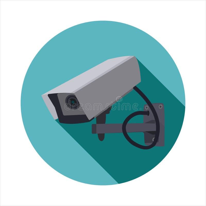 Imagem do vetor do CCTV ilustração royalty free