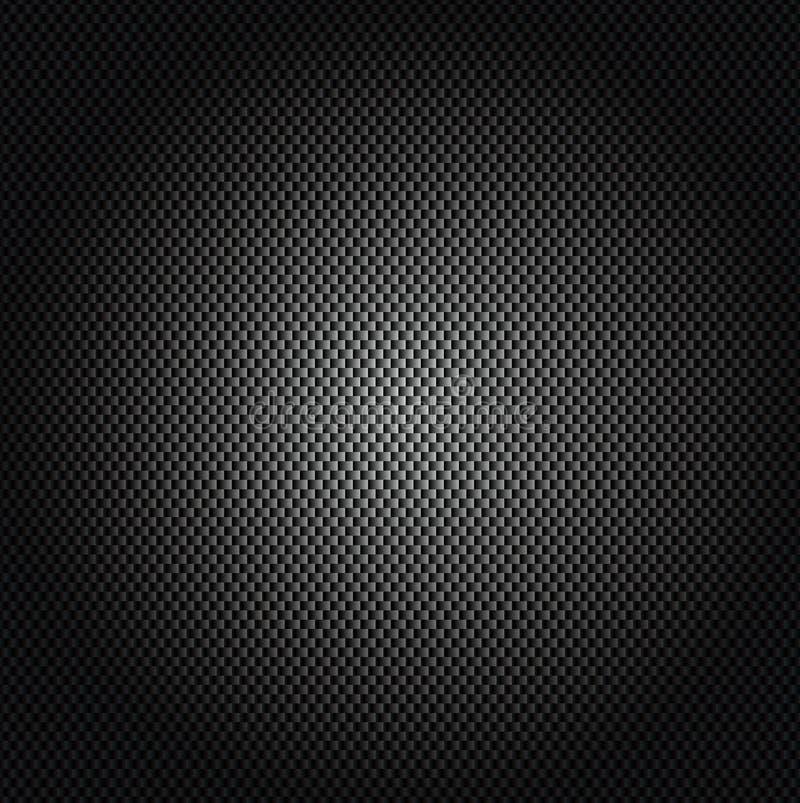 Imagem do vetor do fundo da fibra do carbono ilustração do vetor