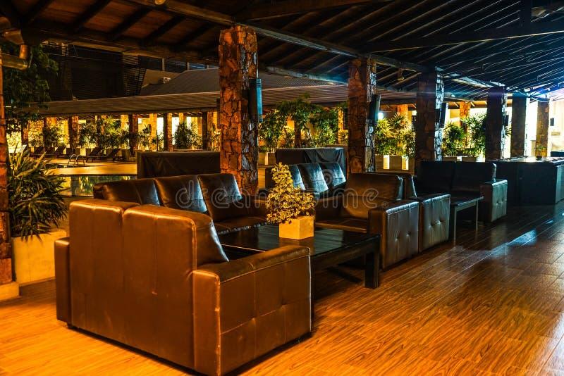 Imagem dos hotéis de luxo em Sri Lanka imagens de stock royalty free