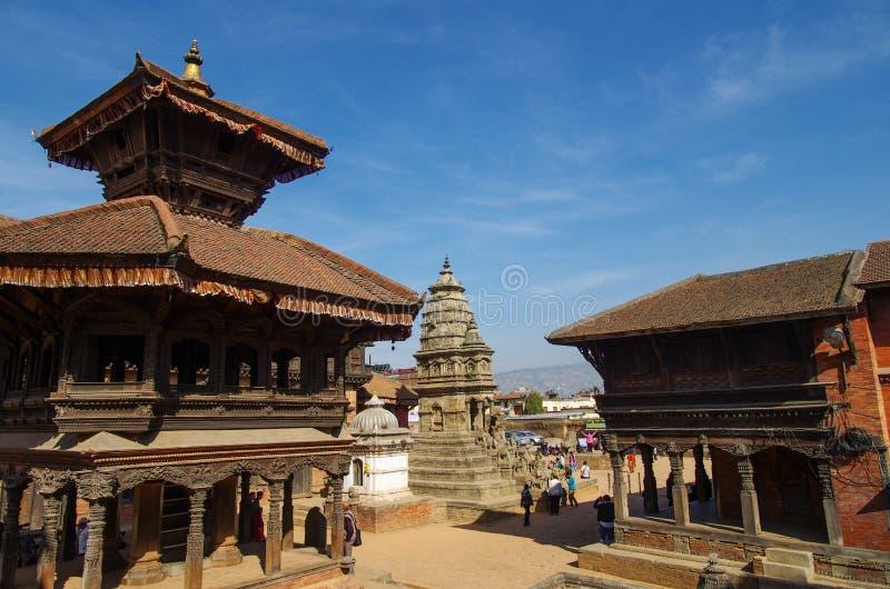 Quadrado de Kathmandu Durbar fotografia de stock