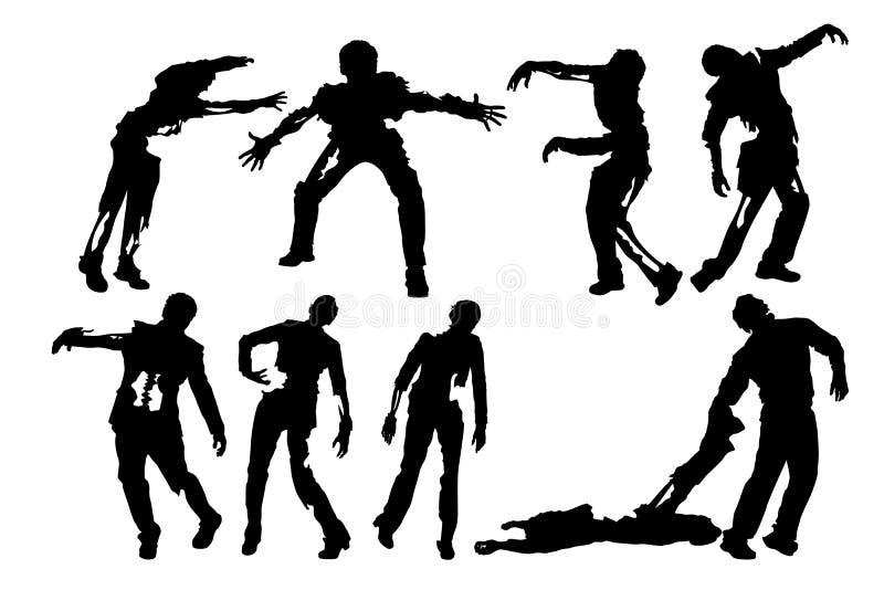 Imagem dos zombis ilustração stock