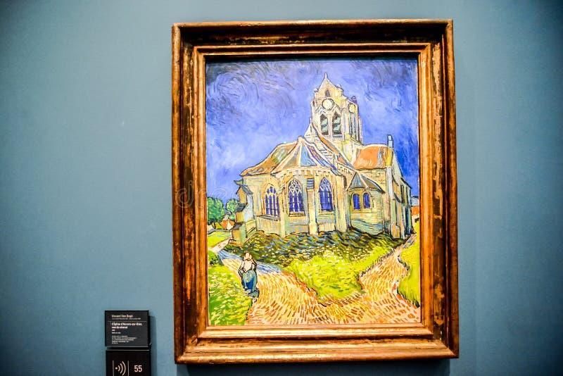 Imagem editorial do museu romântico de Orsay data no 25 de dezembro de 2018 recolhido Paris foto de stock