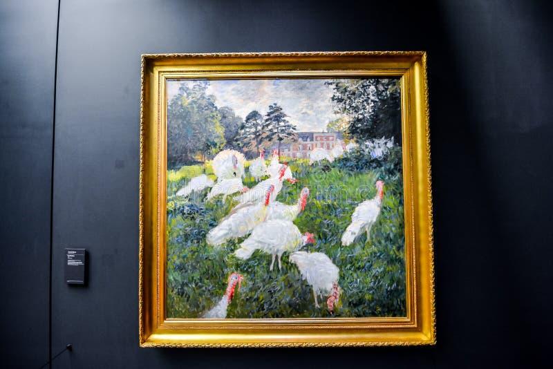 Imagem editorial do museu rom?ntico de Orsay data no 25 de dezembro de 2018 recolhido Paris fotos de stock