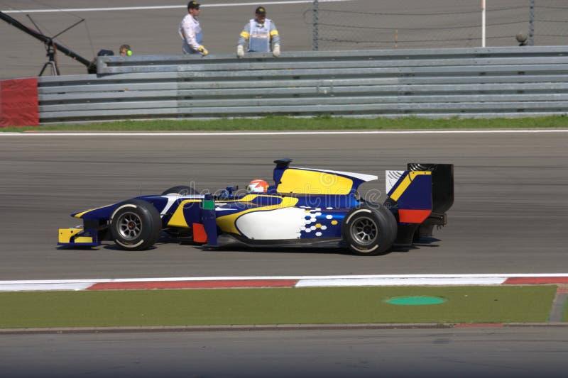 Imagem F1: Fórmula 1 um carro de corridas - foto conservada em estoque fotos de stock