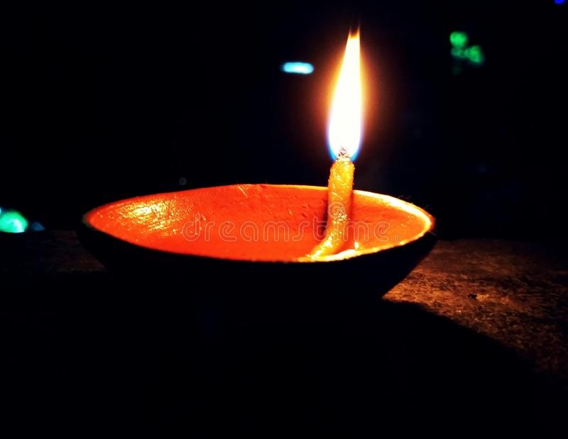 Imagem feliz de Diwali imagem de stock