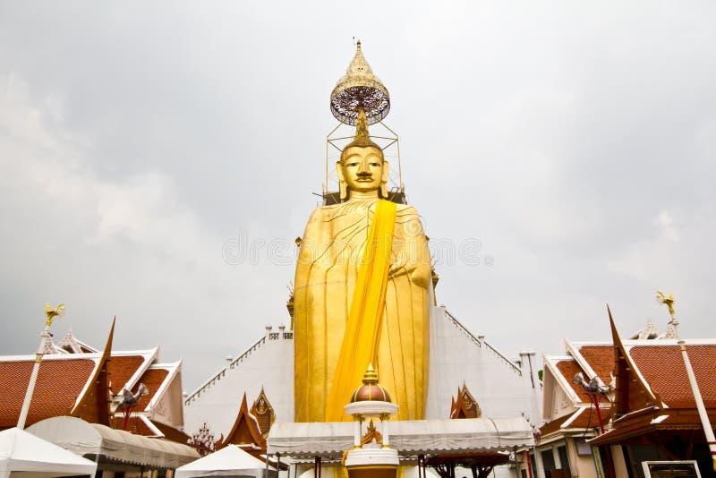 Imagem grande ereta de Buddha foto de stock royalty free