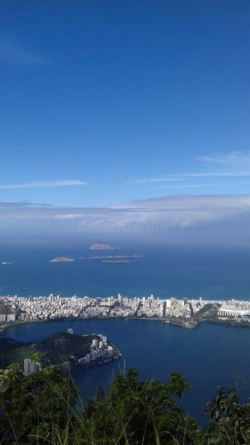 Imagem hace a Rio de Janeiro fotos de archivo libres de regalías