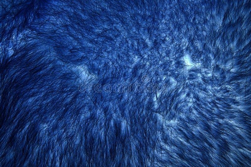 Imagem invertida da pele natural do close up polar vermelho da raposa fotografia de stock royalty free