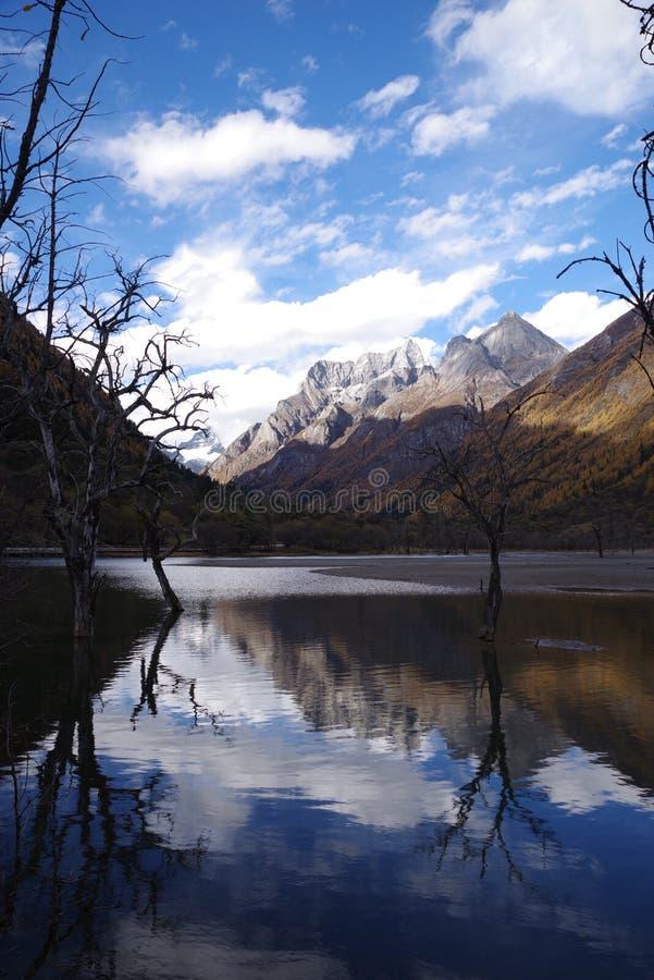 Imagem invertida ocidental de China sichuan imagem de stock