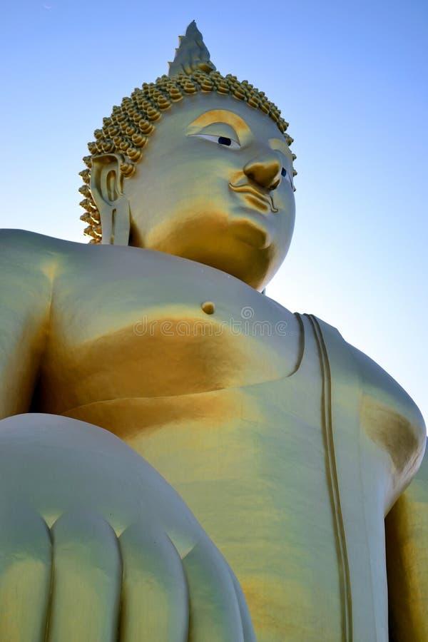 A imagem a mais grande de Buddha foto de stock
