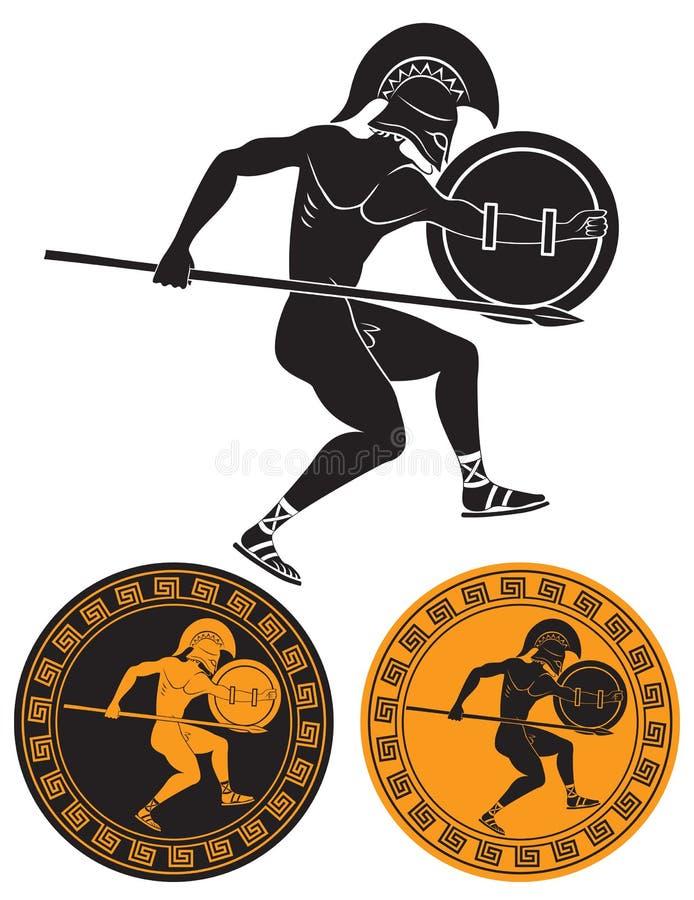 Download Gladiador ilustração do vetor. Ilustração de esporte - 29844397