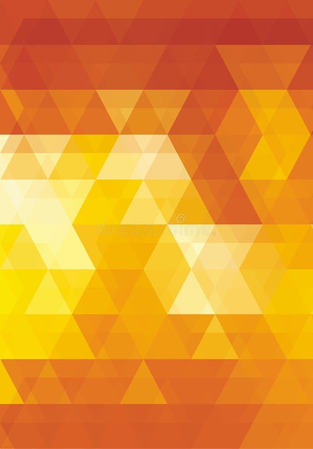 Imagem super do vetor poligonal criativa fotografia de stock royalty free