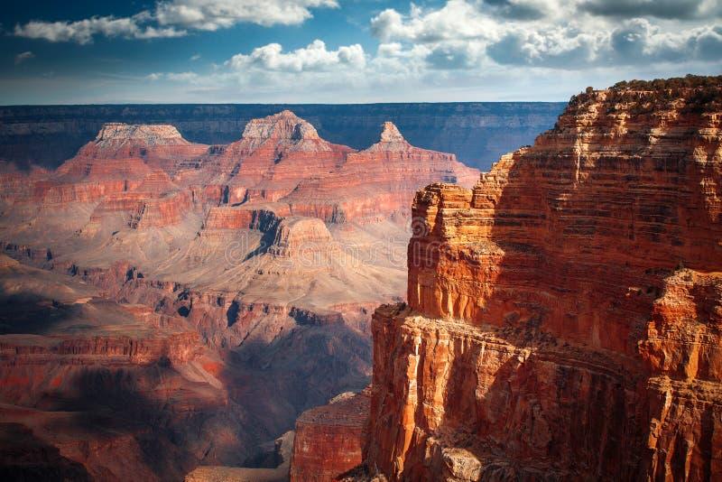 Imagem surpreendente do nascer do sol de Grand Canyon fotografia de stock royalty free