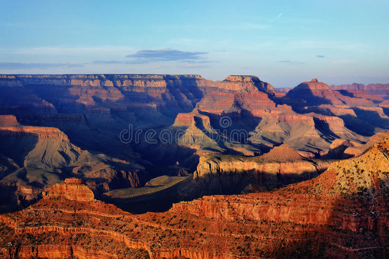 Imagem surpreendente do nascer do sol de Grand Canyon imagem de stock royalty free