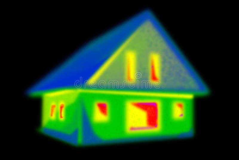 Imagem térmica ilustração do vetor