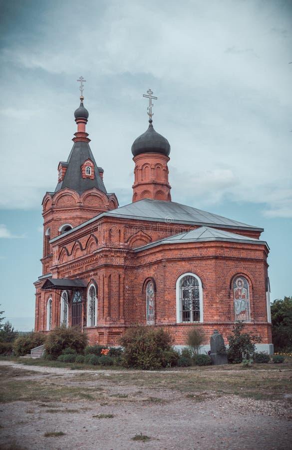 Imagen ?pica de la iglesia ortodoxa rusa fotos de archivo libres de regalías