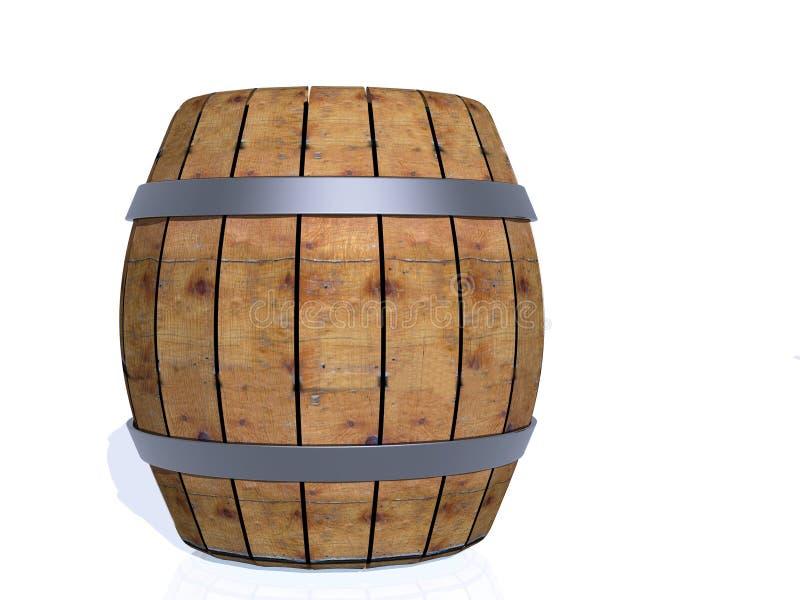 imagen 3d del barril imagen de archivo libre de regalías