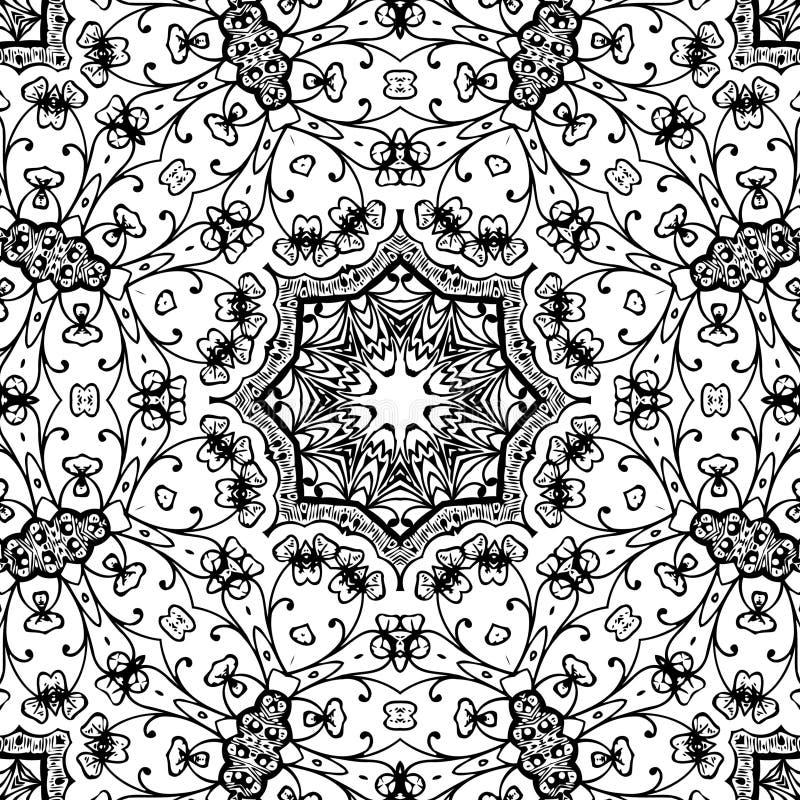 Imagen abstracta blanco y negro del modelo foto de archivo