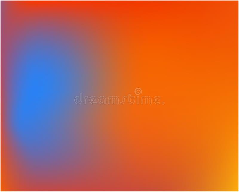 Imagen abstracta coloreada del fondo ilustración del vector