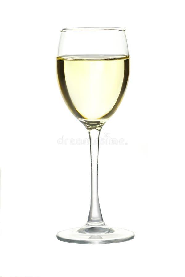 Imagen abstracta de un vidrio de vino imagenes de archivo