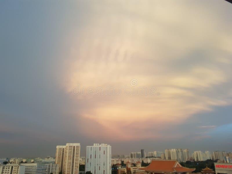Imagen al azar del cielo fotos de archivo