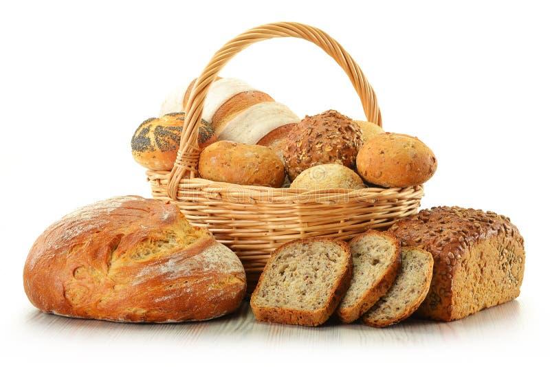 Imagen alrededor del pan y de la comida del algria foto de archivo libre de regalías