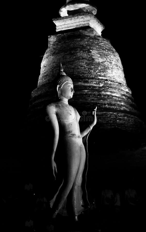 Imagen antigua de Buddha foto de archivo