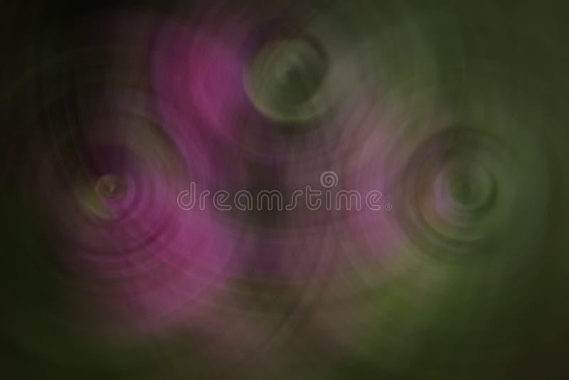 Imagen borrosa con colores atractivos imagen de archivo