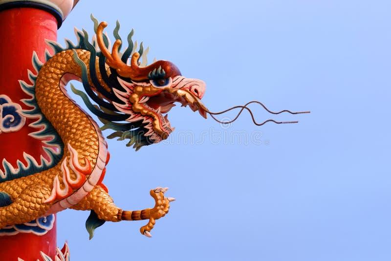 Imagen china del dragón foto de archivo libre de regalías