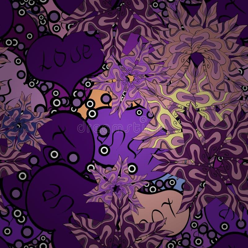 Imagen coloreada extracto libre illustration