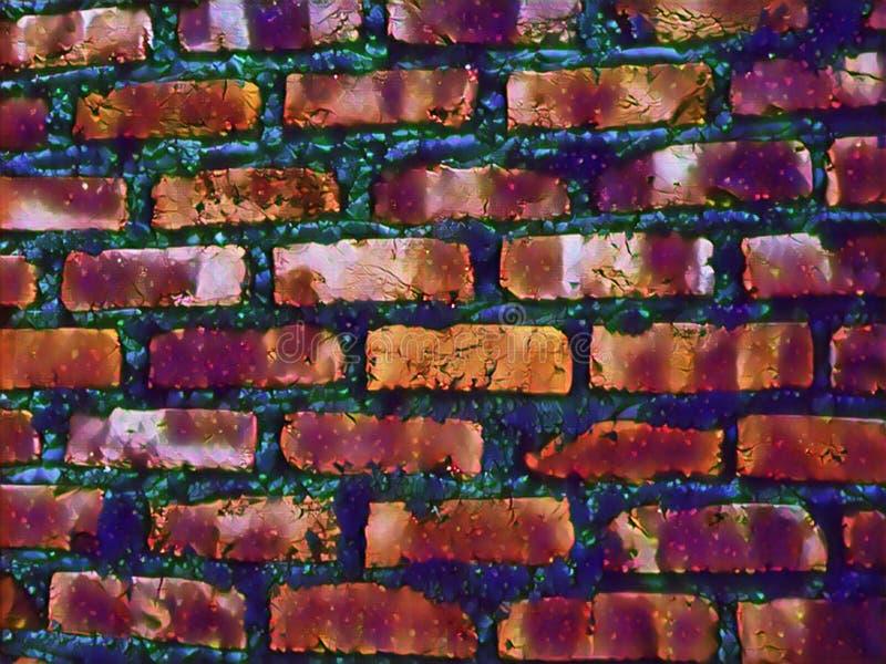 Imagen colorida hermosa del papel pintado del fondo del diseño de la pared libre illustration