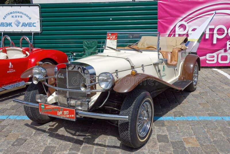 Imagen común automotriz del vintage de Mercedes-Benz Gazelle fotos de archivo libres de regalías