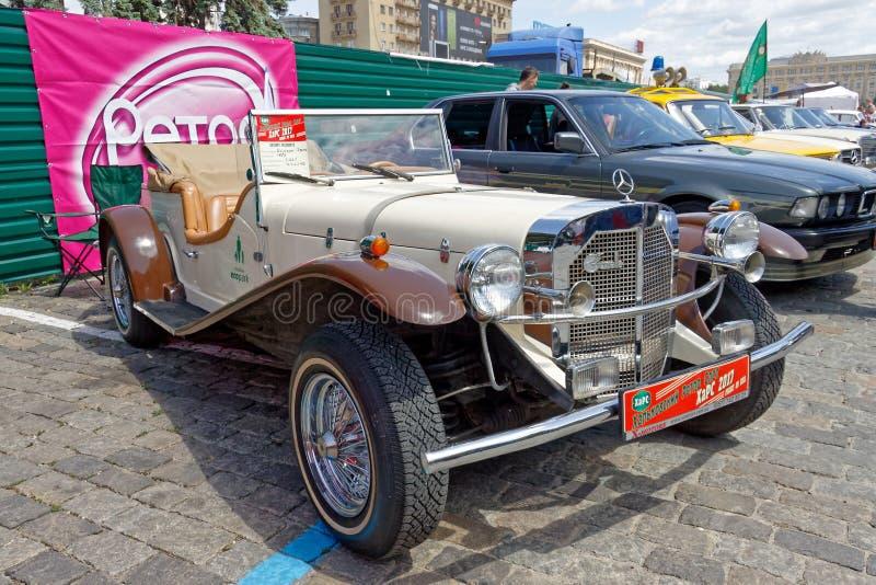 Imagen común automotriz del vintage de Mercedes-Benz Gazelle fotografía de archivo