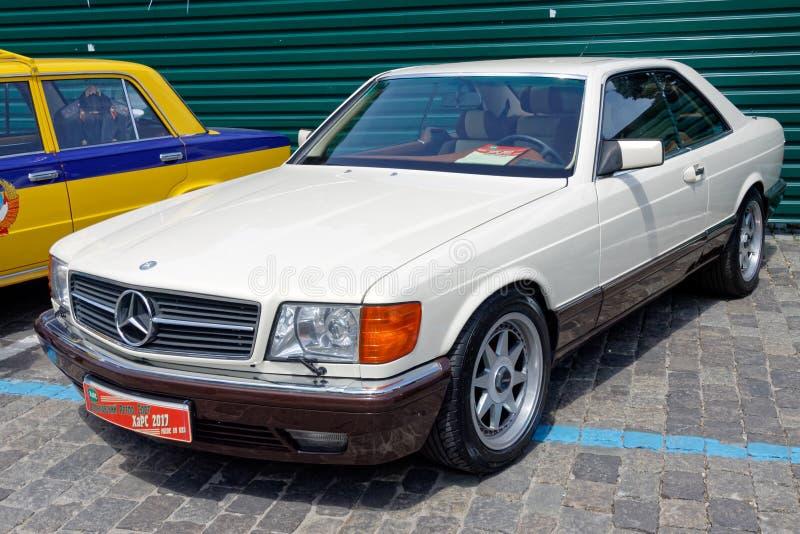 Imagen común automotriz del vintage del SEK 500 de Mercedes-Benz imágenes de archivo libres de regalías