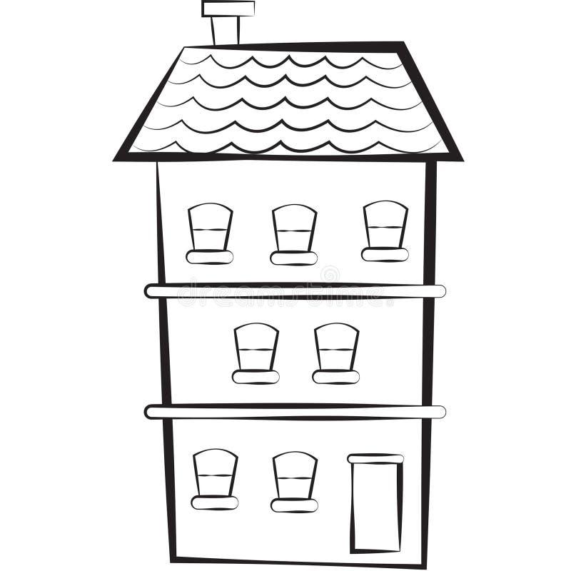 Imagen común: casa del Tres-piso