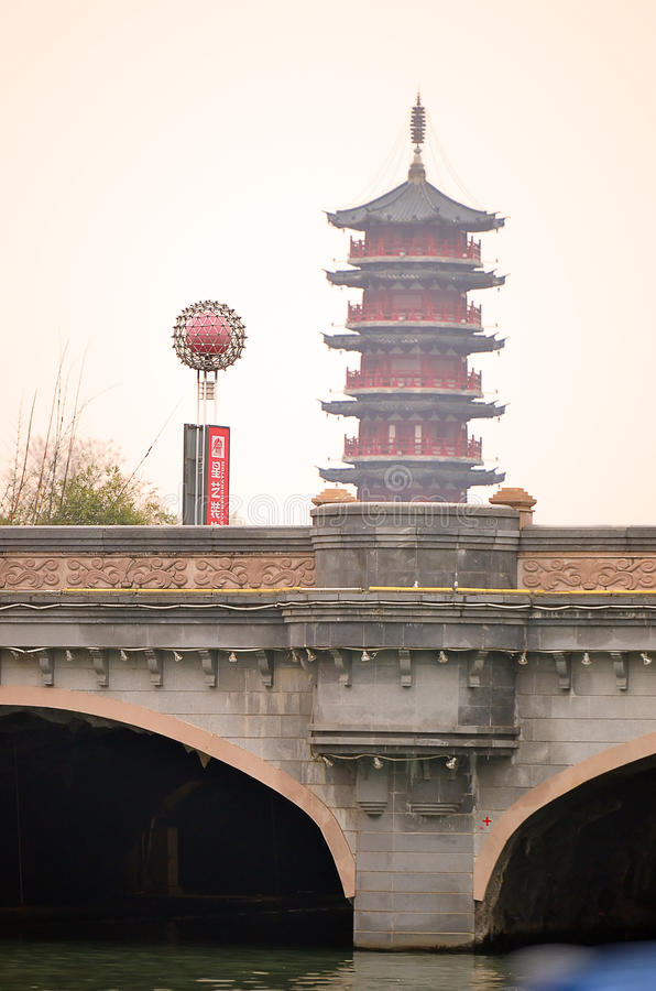 Imagen común de Li River, Guilin, China imagen de archivo