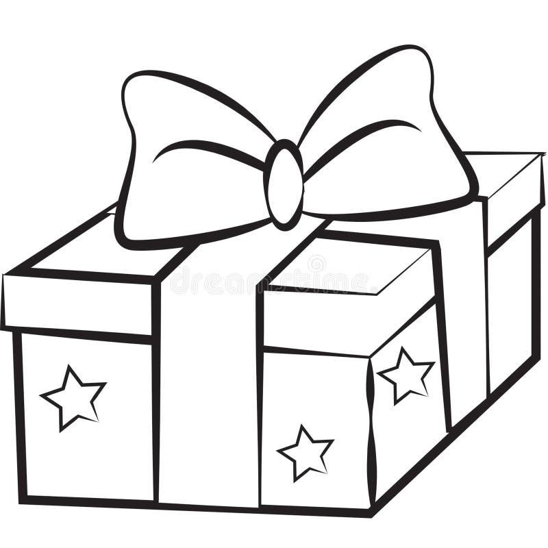 Imagen común: Regalo de la Navidad ilustración del vector