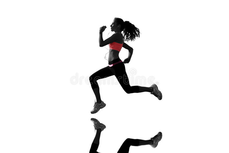 Imagen compuesta de integral de la mujer sana que activa ilustración del vector