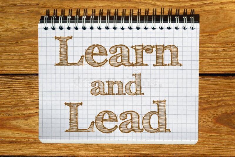Imagen compuesta de la imagen digital Learn y de la ventaja libre illustration