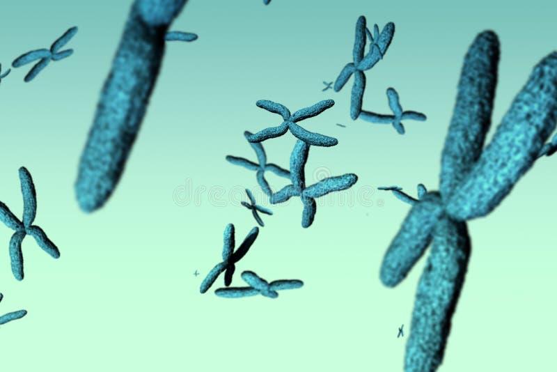 Imagen compuesta de la imagen de la DNA stock de ilustración