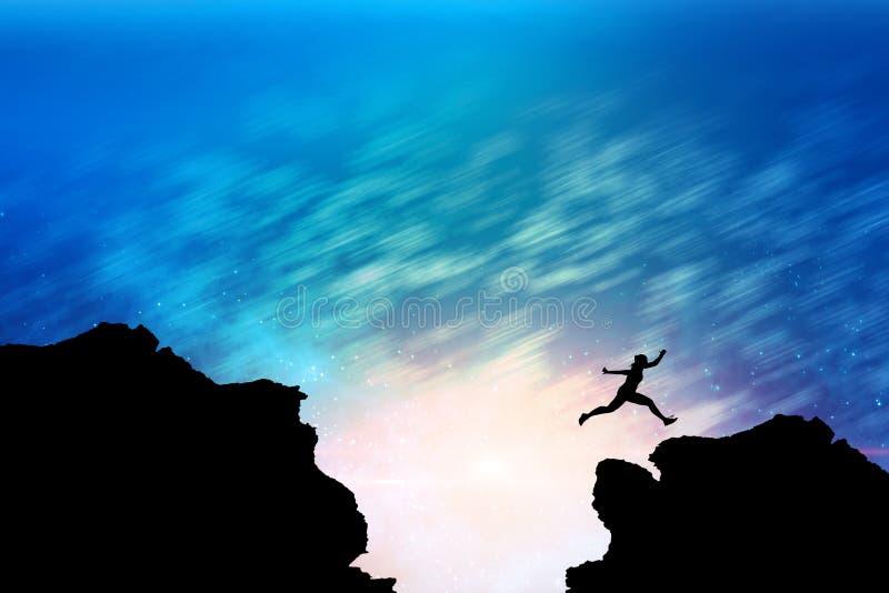 Imagen compuesta de la mujer del atleta que corre en el fondo blanco foto de archivo