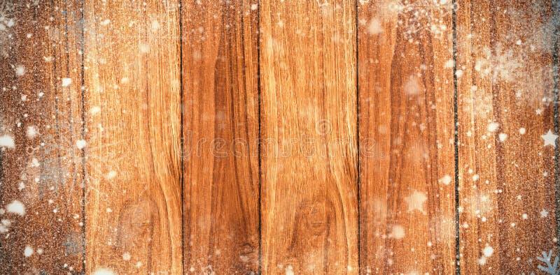 Imagen compuesta de la nieve foto de archivo libre de regalías