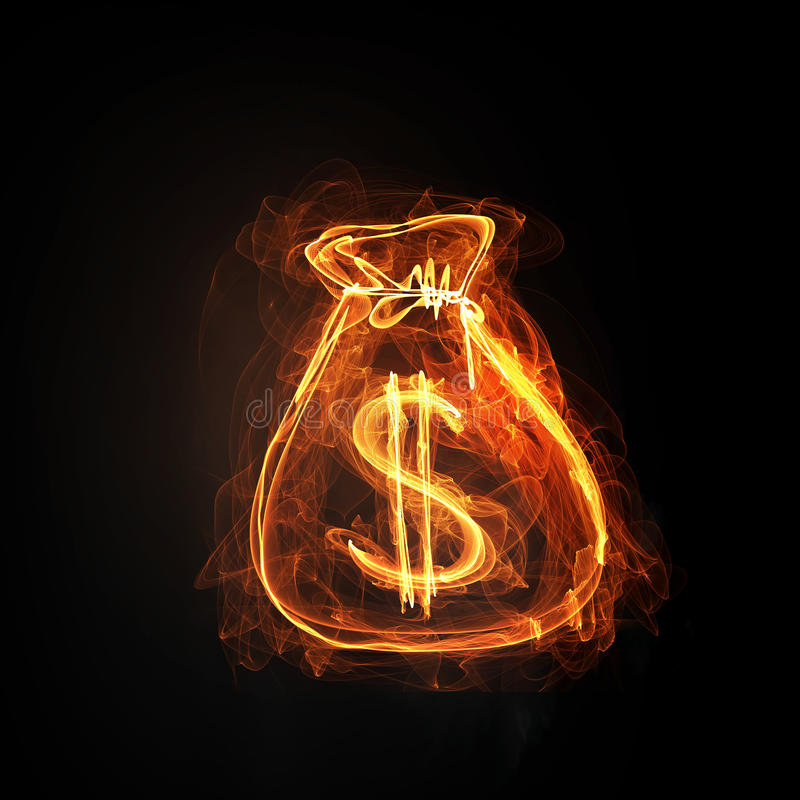 Imagen conceptual de la moneda libre illustration