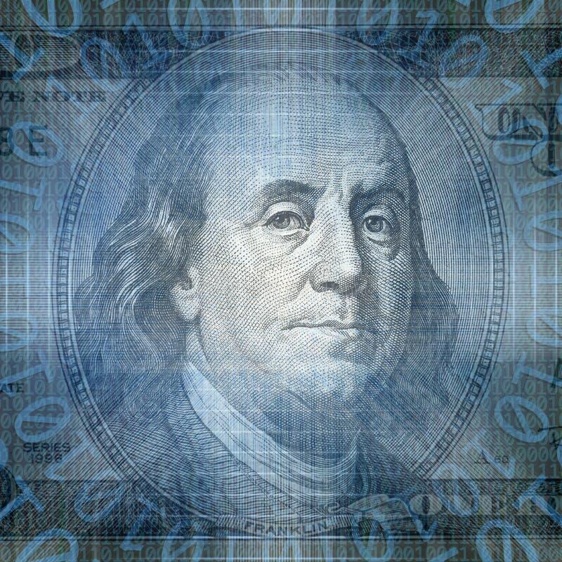 Imagen conceptual del negocio de Internet del tecnology del código binario con libre illustration