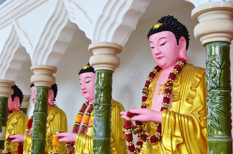 Imagen de Buda del chino en el templo de Kek Lok Si, Penang, Malasia fotos de archivo