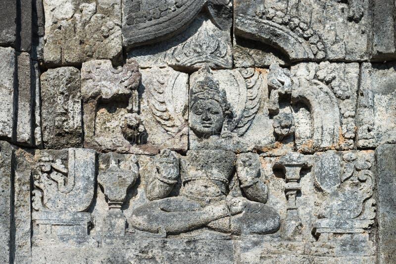 Imagen de Buda en el complejo de Candi Sewu Buddhist, Java, Indonesia foto de archivo libre de regalías