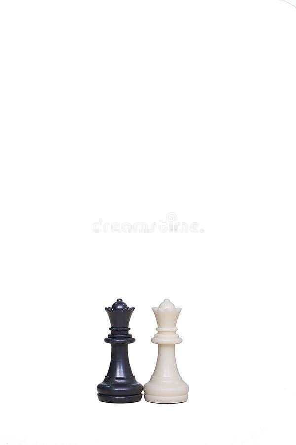 Imagen de dos empeños del ajedrez fotos de archivo