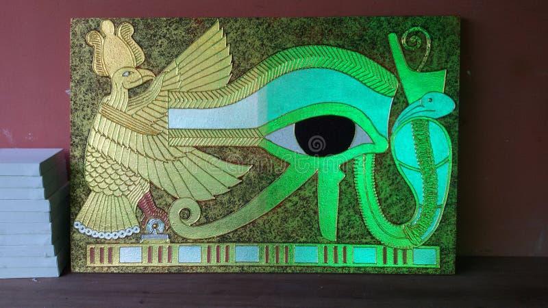 Imagen de Egipto del oro y de la plata foto de archivo libre de regalías